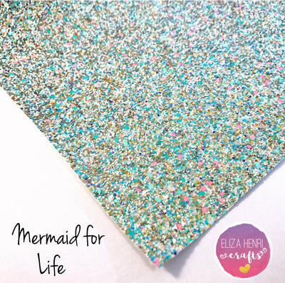 Mermaid for Life Chunky Glitter Fabric
