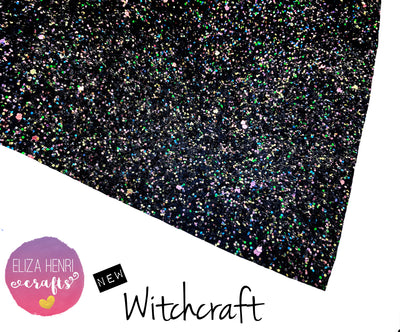 Witchcraft Chunky Glitter Fabric