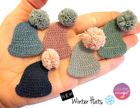New Winter Wooly Hat embellishments