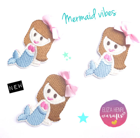 Embroidered Mermaid Collection