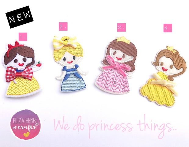Embroidered Princess Collection