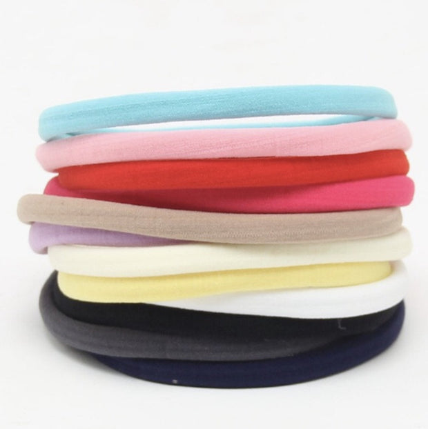 Skinny Nylon Headbands