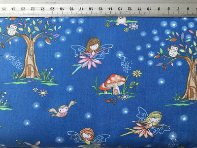 Enchanted Fairy Designer Cotton Fabric