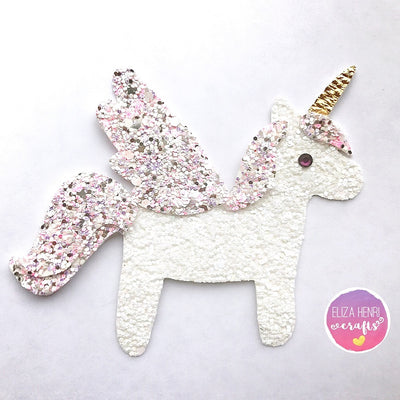 EHC Exclusive Cute Unicorn Horse Template