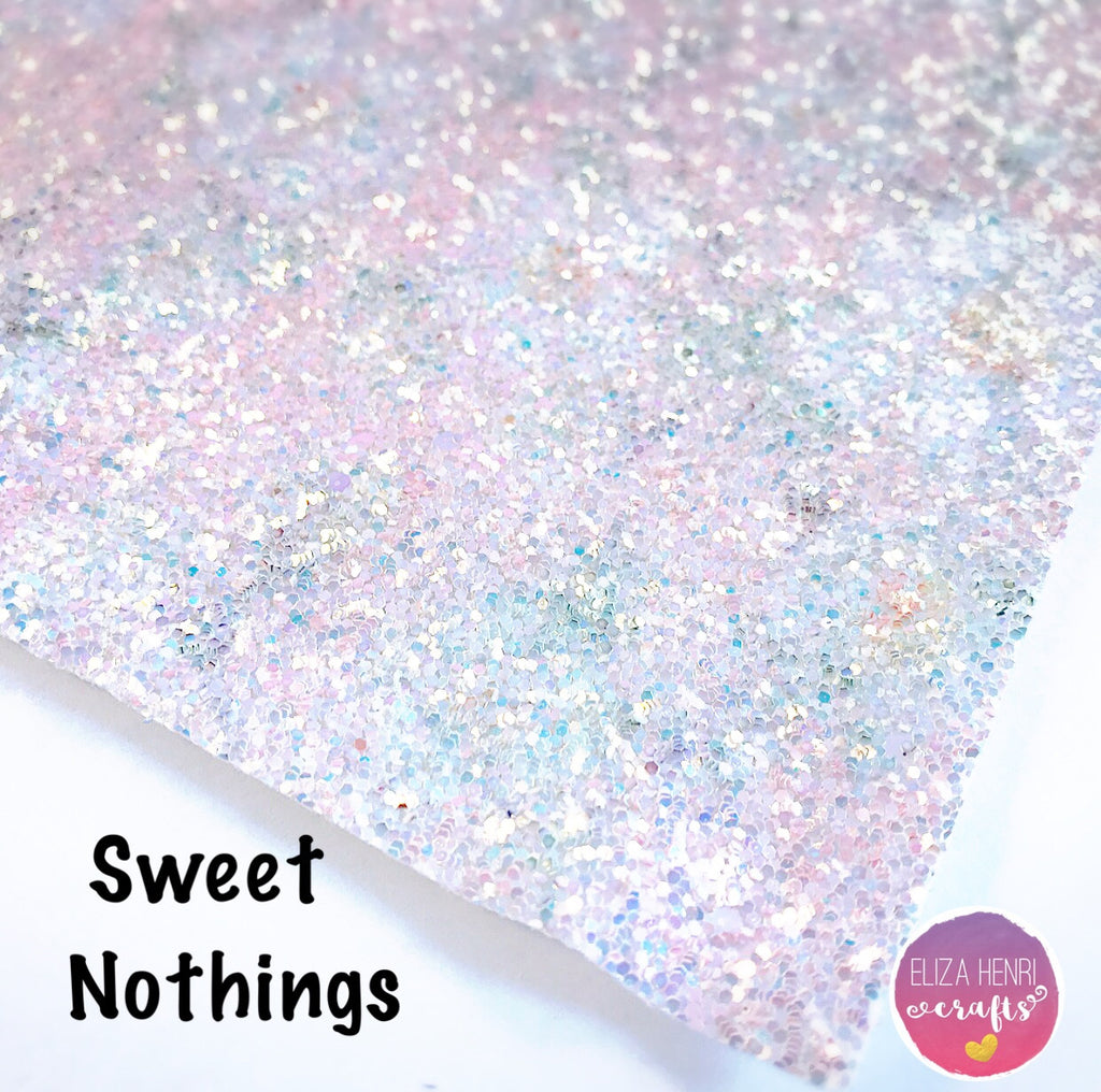 Sweet Nothings Chunky Glitter Fabric
