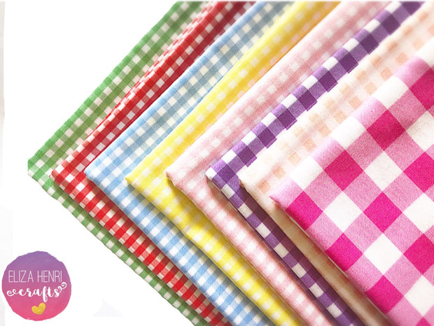The Gingham Collection- Luxury Artisan Fabric Felts
