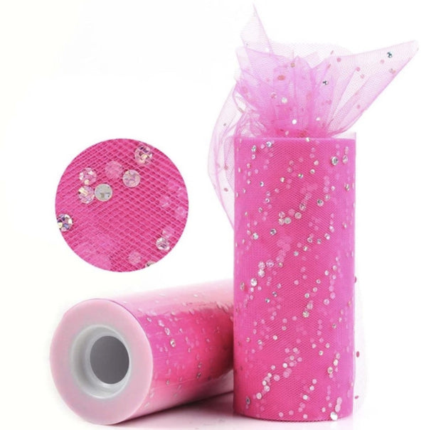 Luxury Sequin Tulle Fabric