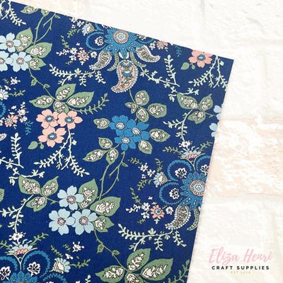 Fireside - Blue -Hesketh House Liberty Fabric Felt 04775651X