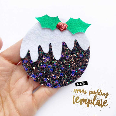 Christmas Pudding Template