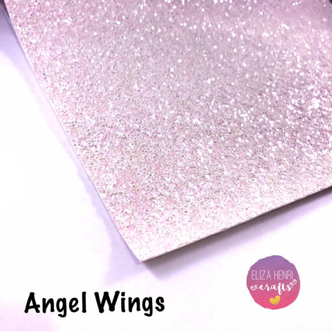 Angel Wings Chunky Glitter Fabric