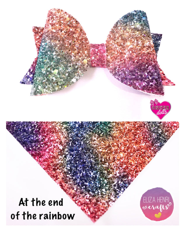 glitter fabric for hair bows