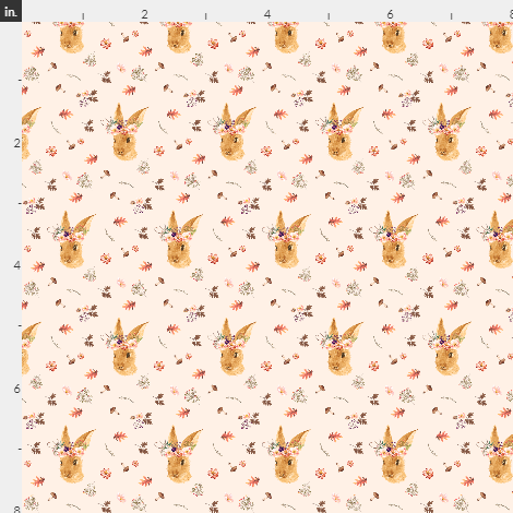The Autumn Bunny Artisan Fabric Felt Collection
