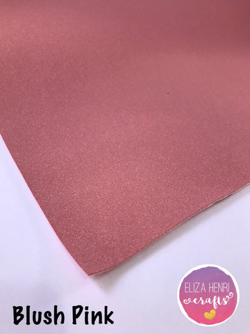 Blush Pink Suede Fabric