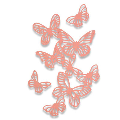Sizzix Thinlets Die Set 3pk Butterflies By Sophie Guilar 662516