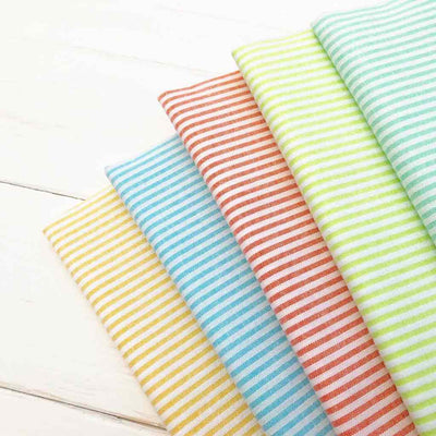 candy stripes chambray fabric