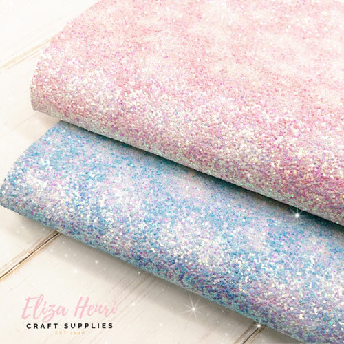 Faded Clouds Chunky Glitter Fabrics- Featured in April Bow Box