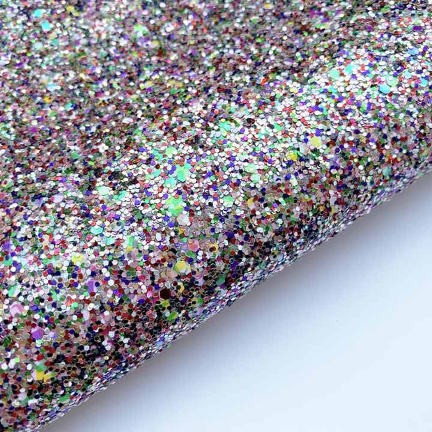 Crackers Chunky Glitter Fabric