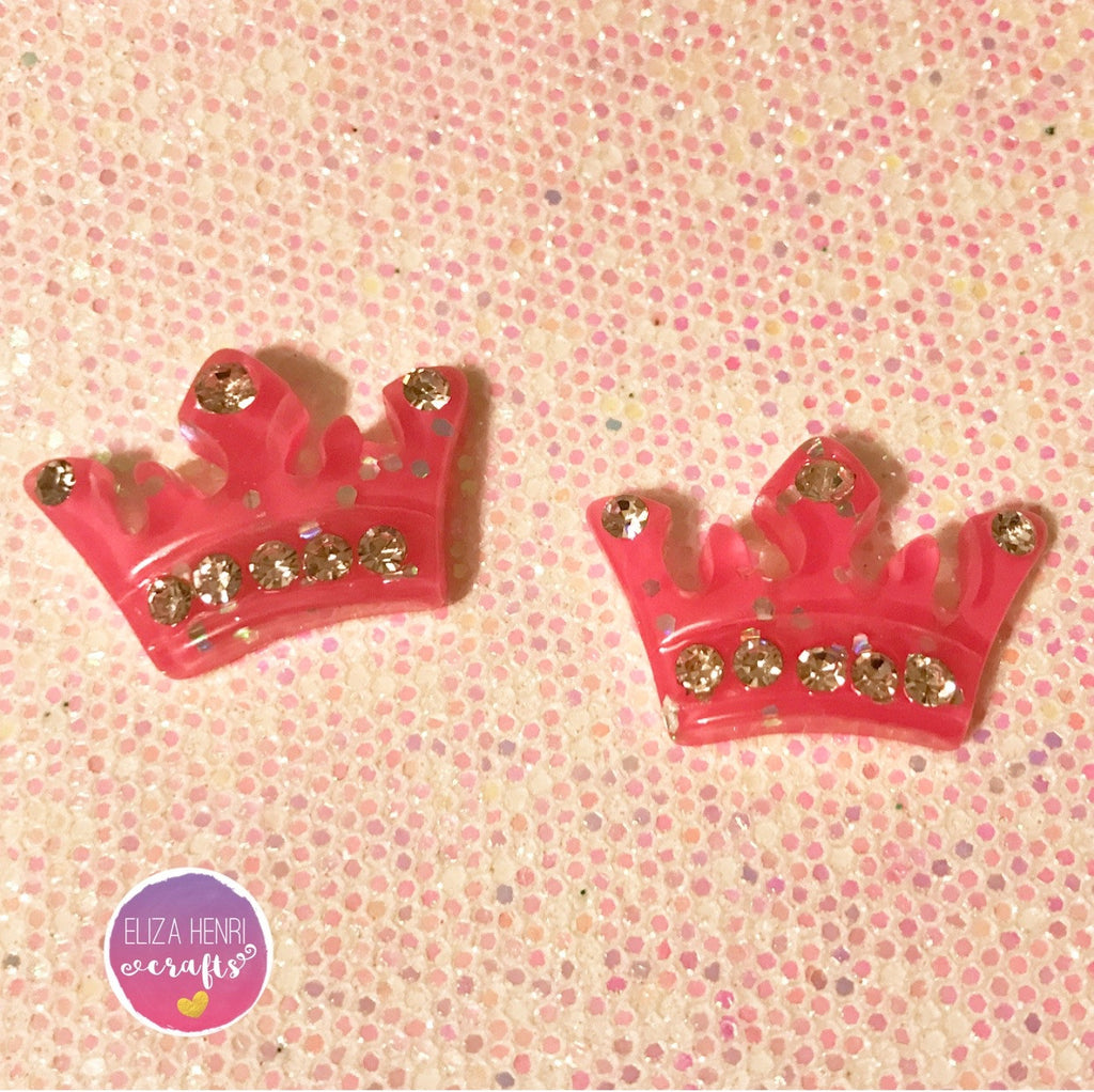 Princess Crowns Charm Embellishments