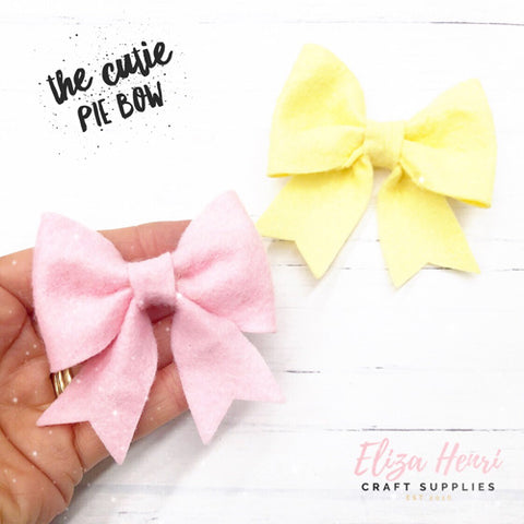 The Cutie Pie Bow Templates- 3 sizes available