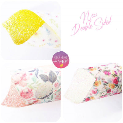 double sided glitter fabric