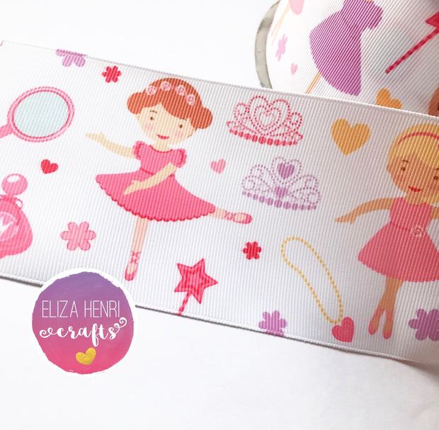 Dress Up Time Girls Grosgrain Ribbon 2'' or 3''
