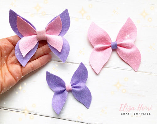 fairy wings bow template