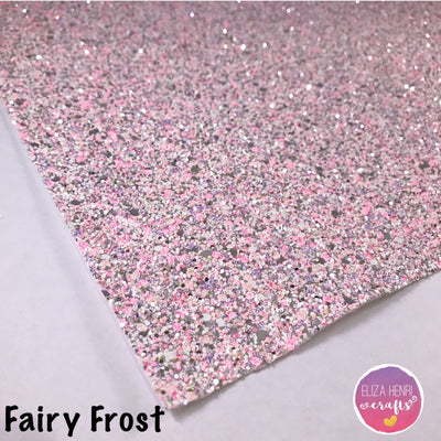 Fairy Frost Chunky Glitter Fabric