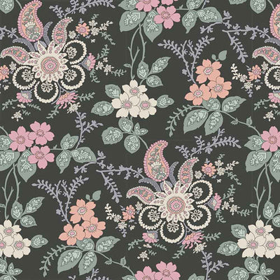 Fireside - Pink -Hesketh House Liberty Cotton Fabric 04775651Y