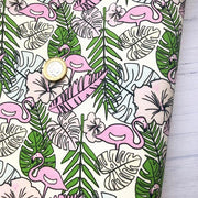 Flamingo Light Reactive Colour Change Fabric
