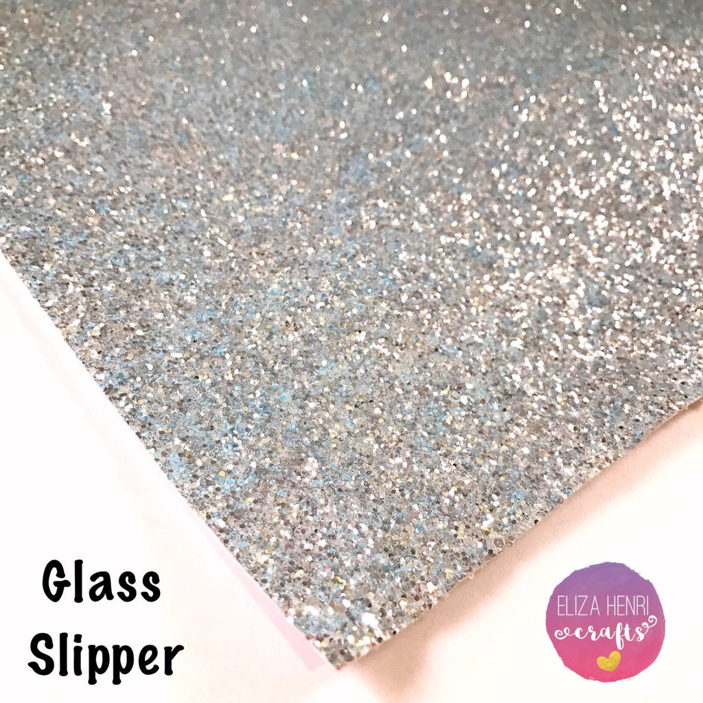 Glass Slipper Chunky Glitter Fabric