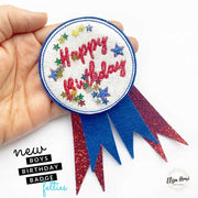 Exclusive EHC Boys Birthday Badge Shaker Felties
