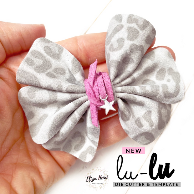 The Lu-Lu Hair Bow Die Cutter