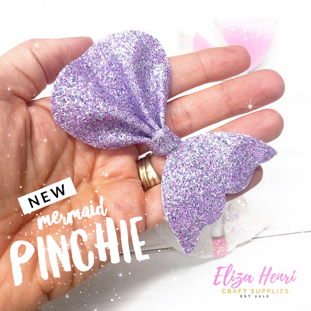 Mermaid Pinchie Hair Bow Template