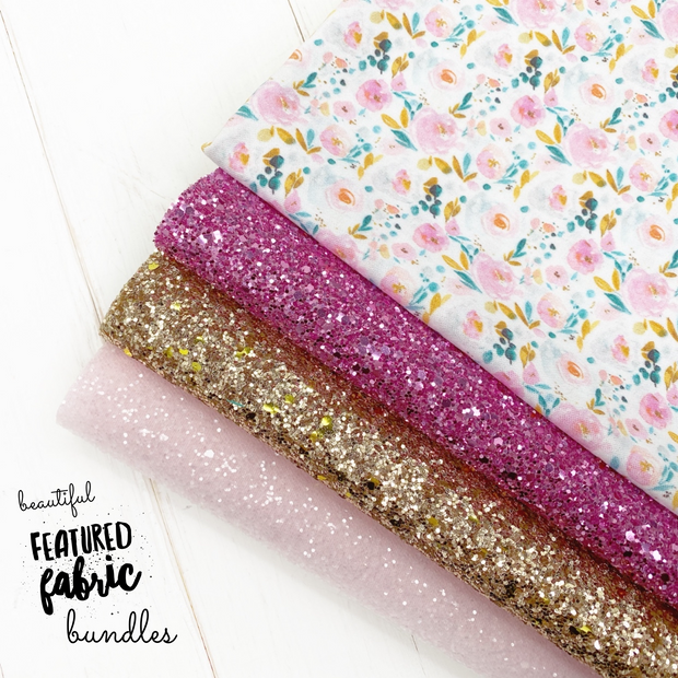 Where Flowers Bloom Collection- Beautiful Featured Fabrics