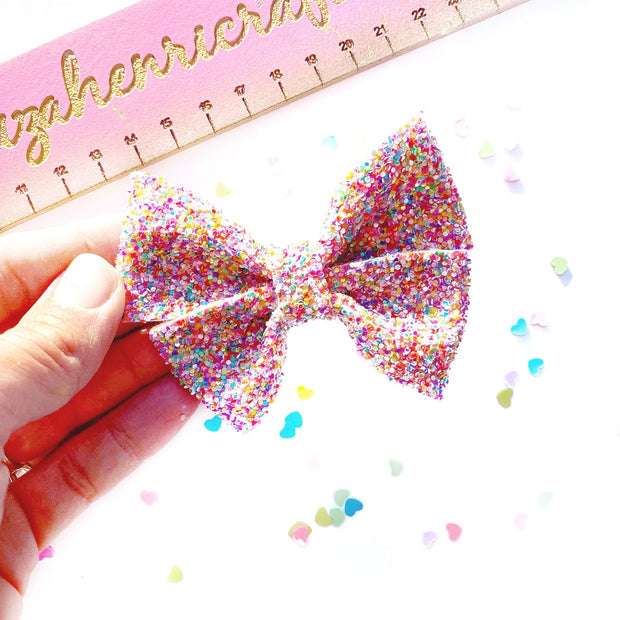 Butter-boo Hair Bow- Die Cutter/Template