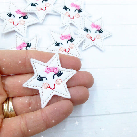 twinkle star felties