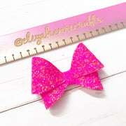 The Flutter Hair Bow- 3 Sizes on 1 Die Cutter/ Template