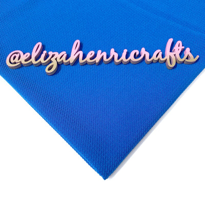 Royal Blue Bullet Fabric