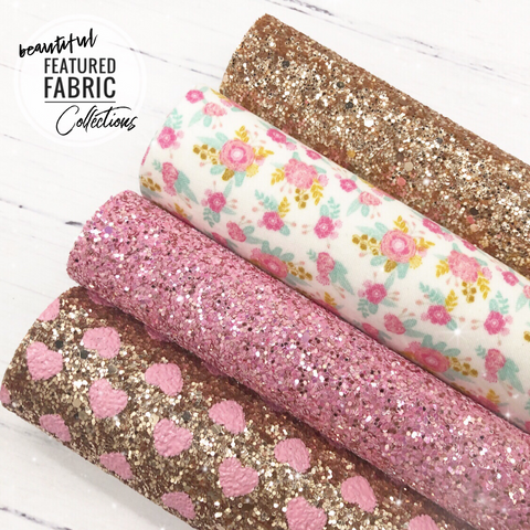 The Floral Fairytale Collection- Beautiful Featured Fabrics