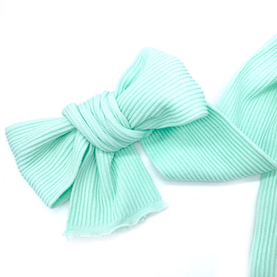 Ribbed Nylon Limitless Strips- Hint of Mint