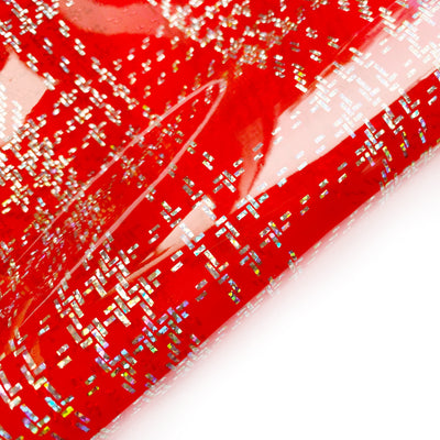 Tartan Transparent PVC Fabric