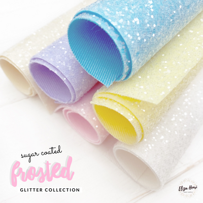 Premium Lux Sugar Coated Glitter collection- 6 Colours