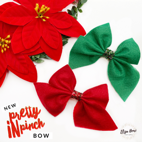 Pretty in Pinch Hair Bow Template