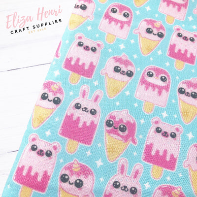 Pink Kawaii Lolly & Ice Creams Artisan Fabric Felt