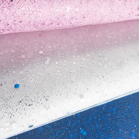 Luxury Glitter Tulle Fabric