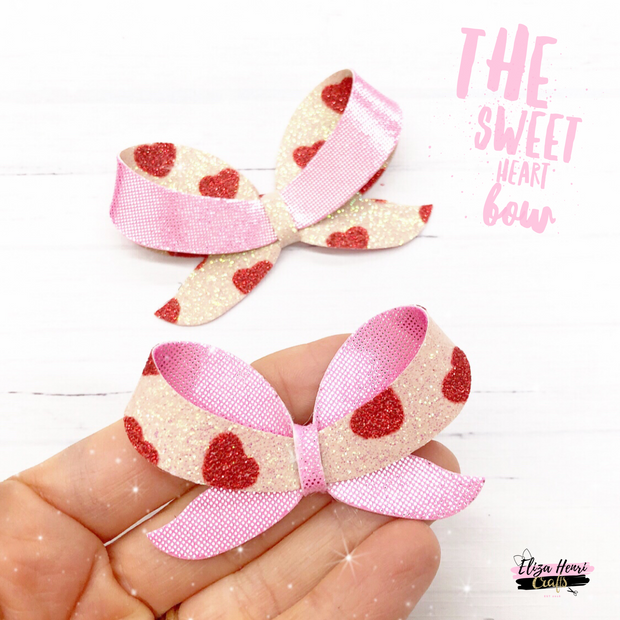 Exclusive Sweetheart Bow Template