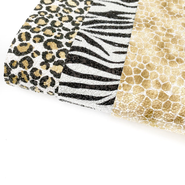 Wild Thing Chunky Glitter Fabric Sheets