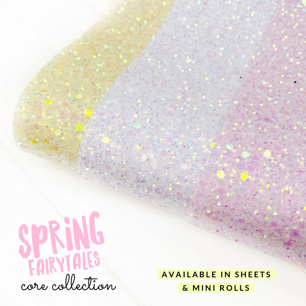 Spring Fairytales Premium Core Glitter collection- 3 Colours