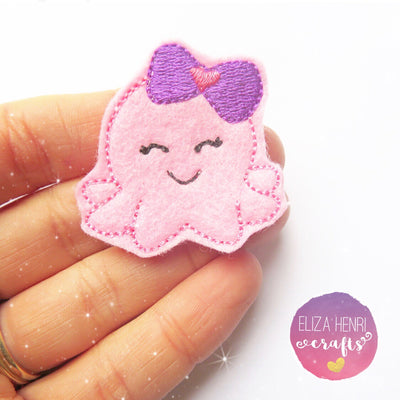 Miss Octopus Kawaii Felties