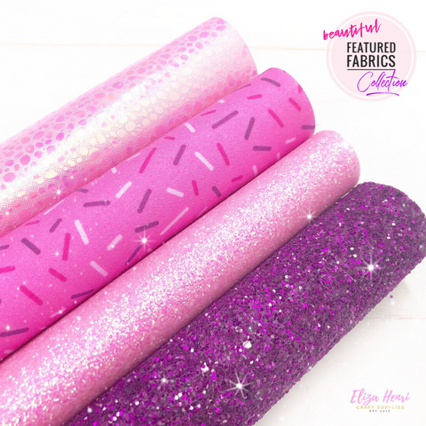 The Pink Sprinkles Collection- Beautiful Featured Fabrics